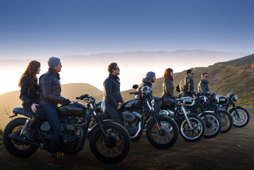 hire triumph and harley davidson motorcycles
