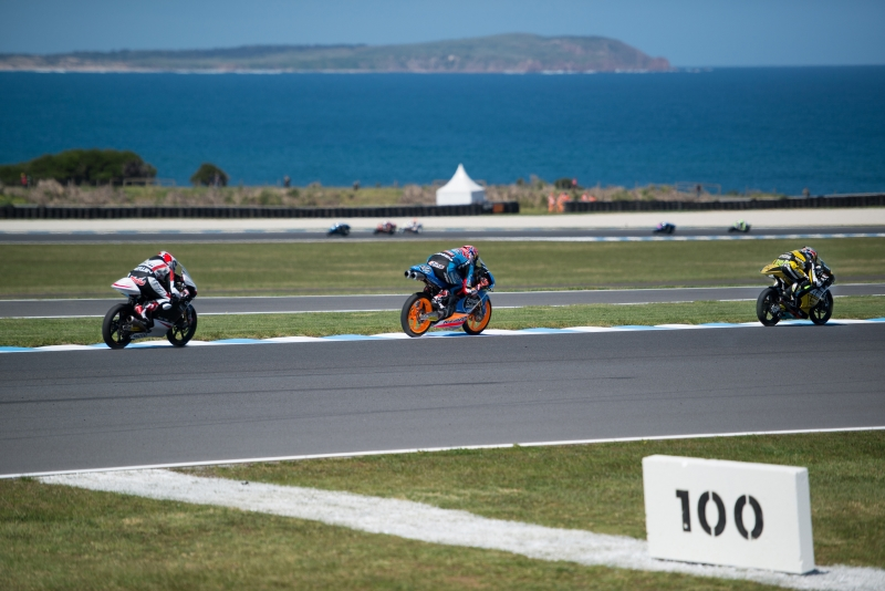 Motorcycle racing Philip Island Victoria