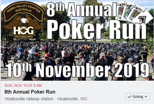 YVC HOG 2019 Poker Run