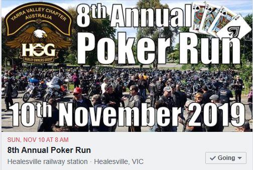 YVC HOG 2019 Poker Run